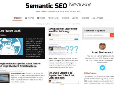 <h1>Semantic SEO Newswire</h1>