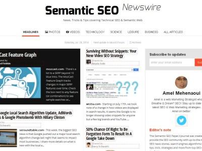 Semantic SEO Newswire