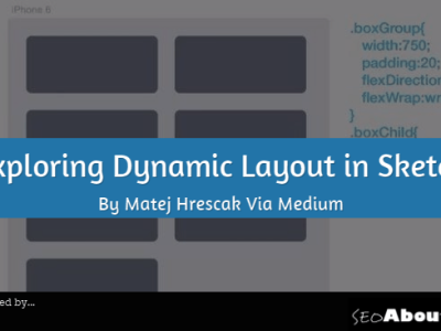 Exploring Dynamic Layout in Sketch By Matej Hrescak