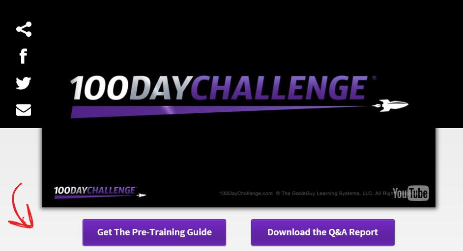 Goal Setting 100 Day Challenge