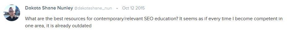 best seo education resources list