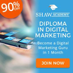 Shaw Academy Digital Marketing Diploma